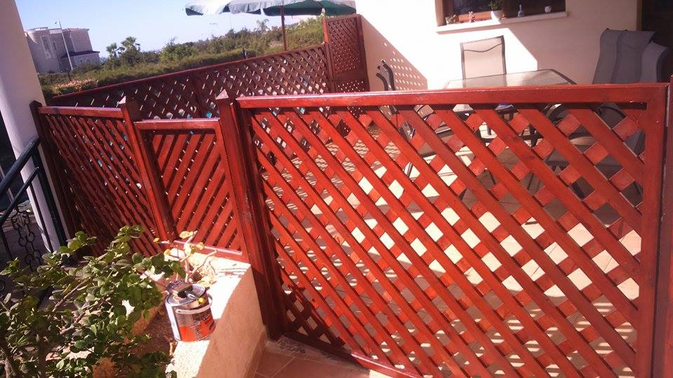 Completed Fencing and Gates